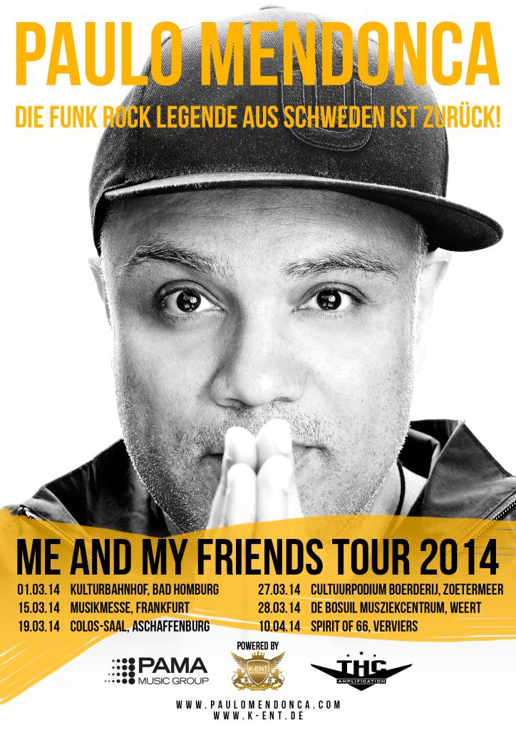 Paulo Mendonca Tour 2014 Poster final