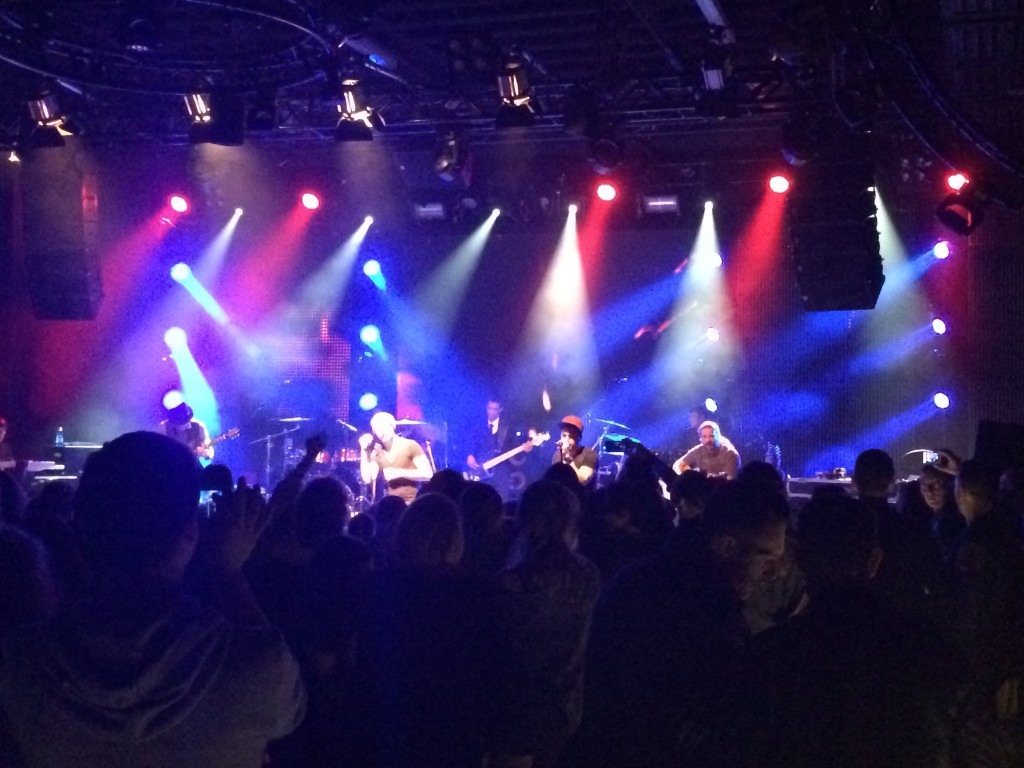Söhne Mannheims Gibson Frankfurt Album Release