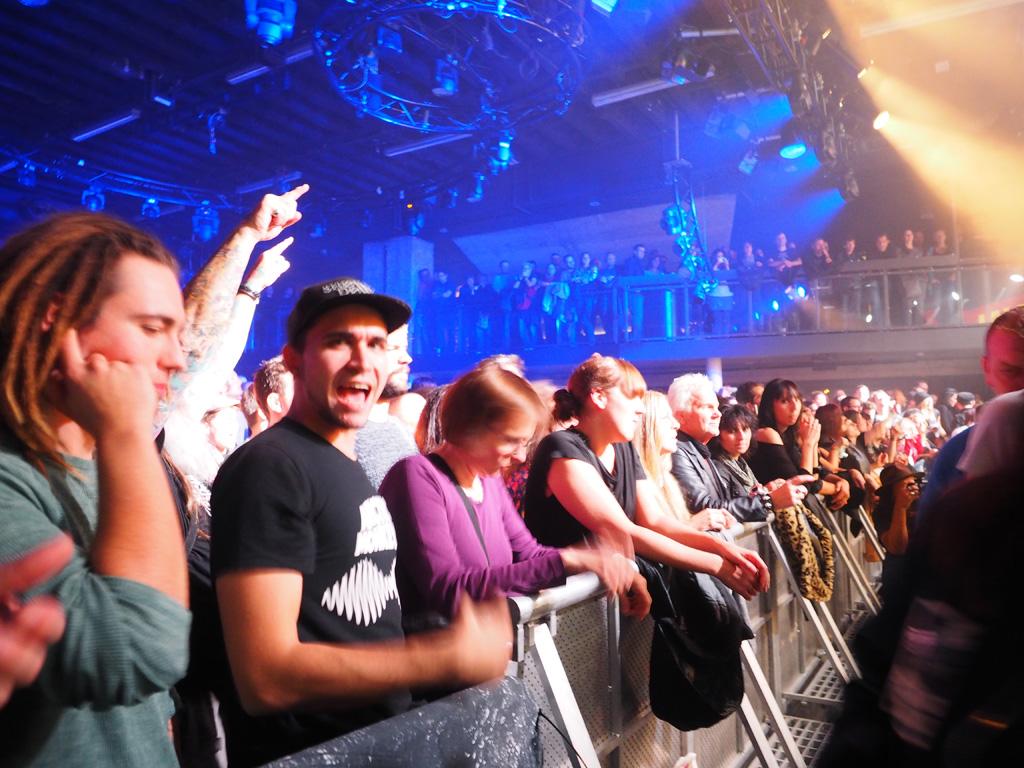 und die Fans waren begeistert.