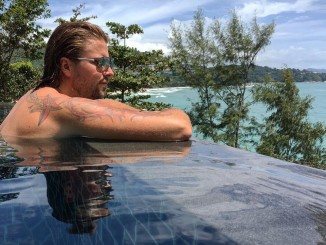 Felix von Jascherhoff in Phuket Thailand Hotel Pullman Phuket Arcadia Naithon Beach