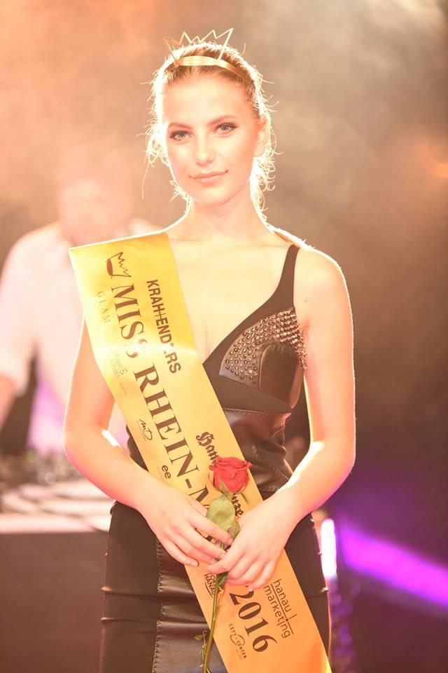 Miss Rhein Main 2016 Gewinnerin Lena Katharina Merle