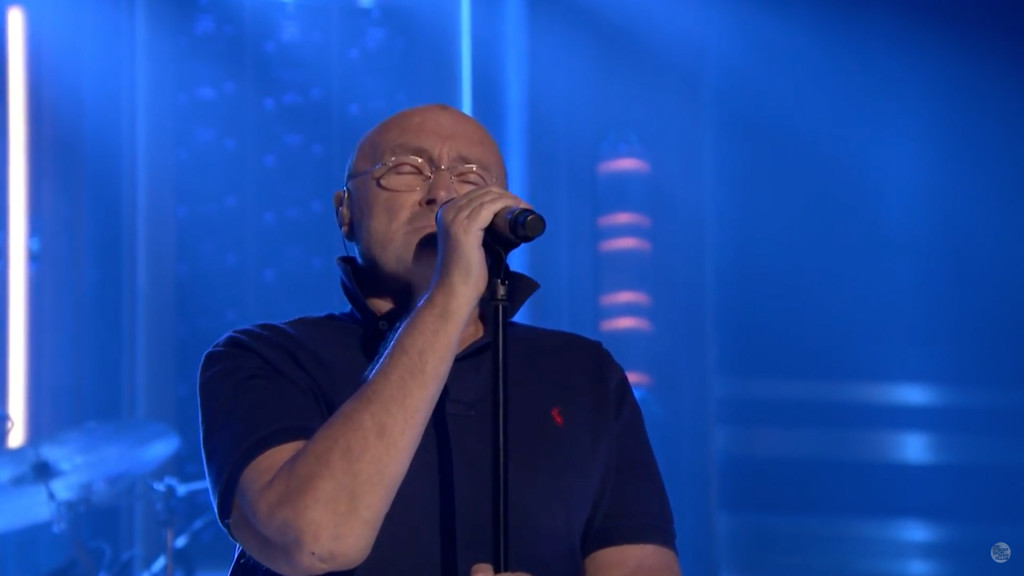 Phil Collins Jimmy Fallon Air Tonight