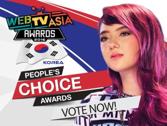 Jannine Weigel People Choice Web TV Asia Award