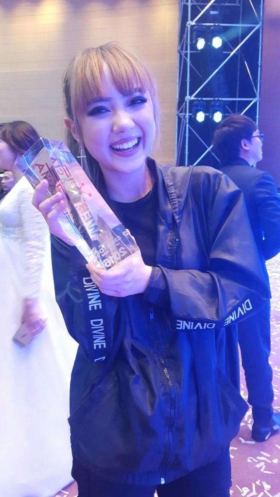 Jannine Weigel Ploychompoo Breakout Creator Award WebTV Asia 2016